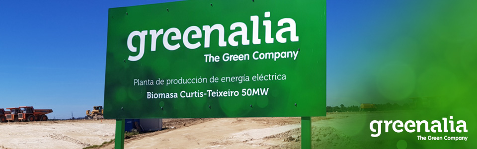 GREENALIA'S FINANCIAL CLOSE FOR THE BIOMASS PLANT IN CURTIS-TEIXEIRO
