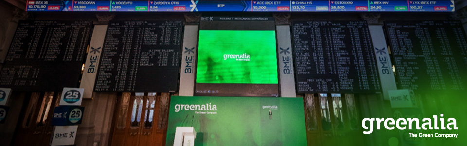 THE MAB DEPARTMENT OF INTERMEDIATION APPROVES THE CHANGE OF QUOTATION OF GREENALIA STOCK SHARES FROM FIXING TO CONTINUE