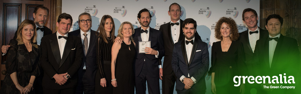 GREENALIA AWARDED AS THE BEST EUROPEAN BIOMASS PROJECT
