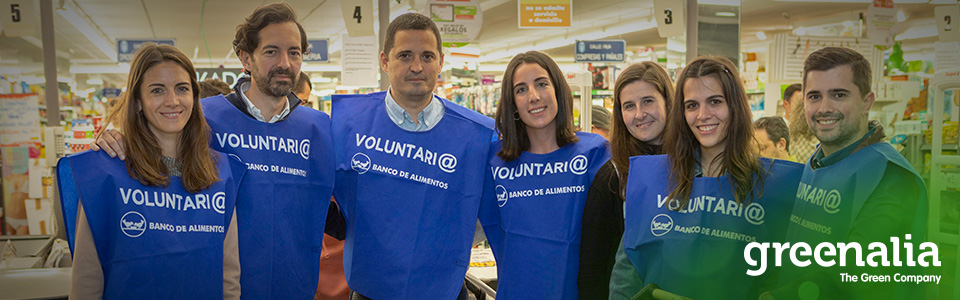 GREENALIA JOINS THE IX INTERNATIONAL WEEK OF CORPORATE VOLUNTEERING (GIVE&GAIN2019) PROVIDING SUPPORT TO THE GALICIAN FOOD BANK RIAS ALTAS.