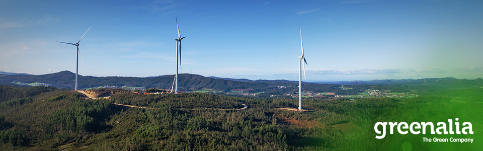 THE FIRST OF GREENALIA's WIND FARMS GOES INTO OPERATION