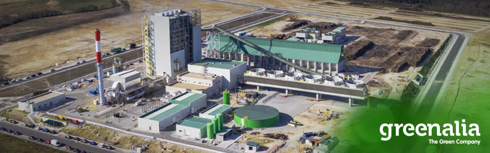GREENALIA's FIRST 135 M€ BIOMASS PLANT GOES INTO OPERATION