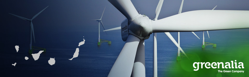 GREENALIA PLANS FOUR NEW FLOATING WIND FARMS IN GRAN CANARIA